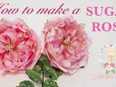 HOW TO MAKE A DAVID AUSTIN SUGAR ROSE