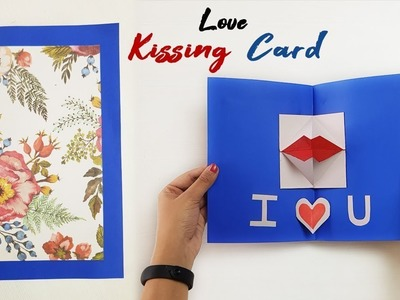 How To Make An Origami Kissing Lips | Valentin's Day Greeting Cards | Paper Crafts | Paper Girl