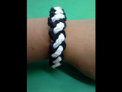How to make bracelet very easily by ribbons for you. .
