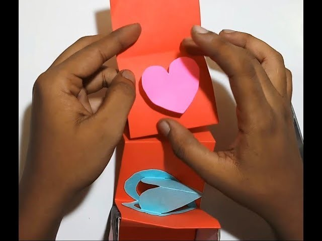 How To Make DIY Gift Box By Coloring Paper|Amazing Homemade Paper Craft Gift Box By Paper