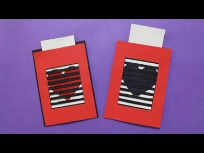 How to make Magical Greeting Cards   DIY paper crafts   Easy Origami step by step Tutorial