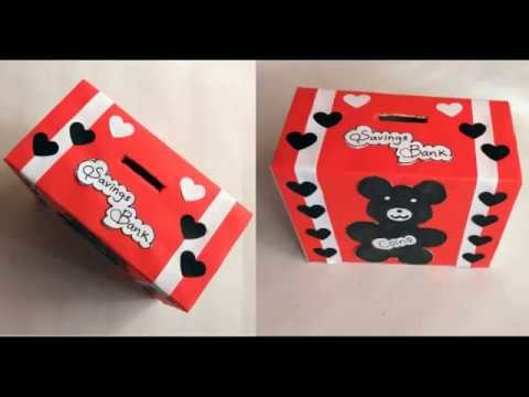 How to make Savings Bank for KIDS | DIY  Mini Coin Bank Idea | Best out of waste