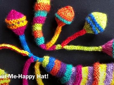 Knitting a Decorative Dangling Bobble