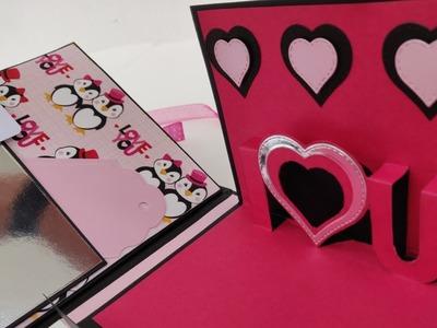 Scrapbook ideas || Valentines gift ideas || Valentines scrapbook || love scrapbook