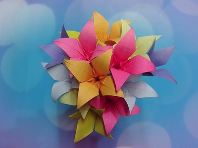Zen Arts & Crafts : How to make EASY Paper Flowers