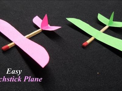 DIY How To Make Matchstick Plane