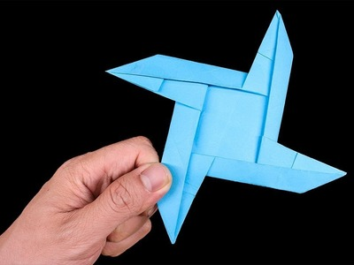 Easy Origami #Ninja Stars 4 points - How to make