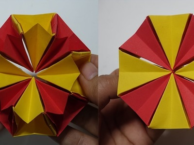 How To Make Easy Origami Magic Circle Fireworks   Diy Christmas ...   300x400