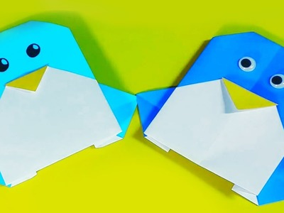 How to make an origami penguin easy
