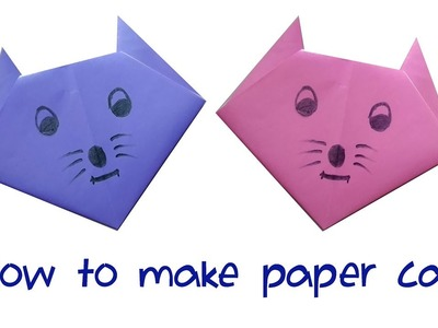 How to make paper cat | Origami Cat