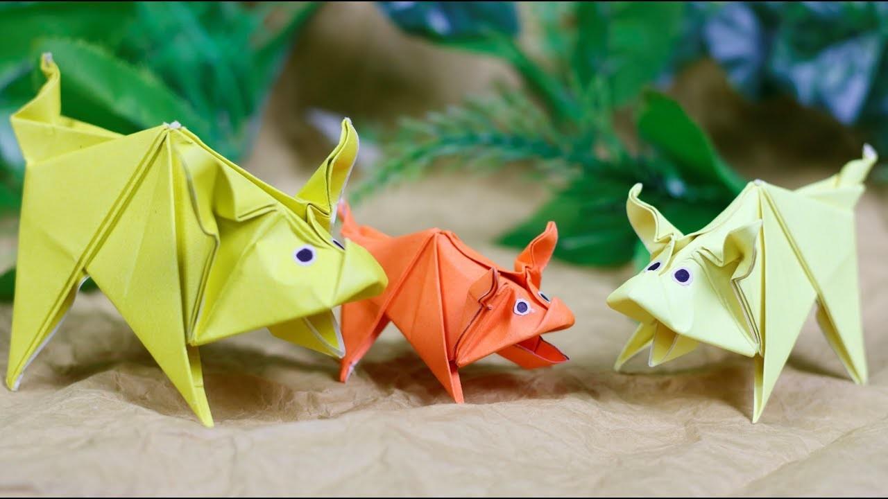 Paper Folding Art (Origami): How to Make  Pet Pig