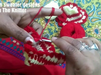 Very Easy Winter.woolen dress for laddu gopal without knitting.step by step part3