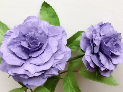 ABC TV | How To Make Rose Paper Flower #2 | Flower Die Cuts - Craft Tutorial