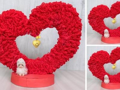 DIY Beautiful !! Heart showpiece || DIY Project