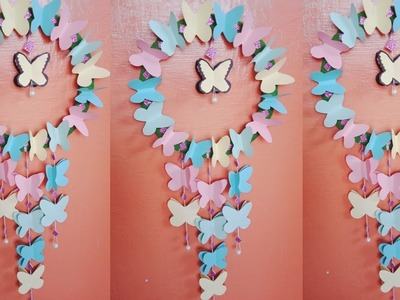 Diy Paper Wall Decorations Easy Craft