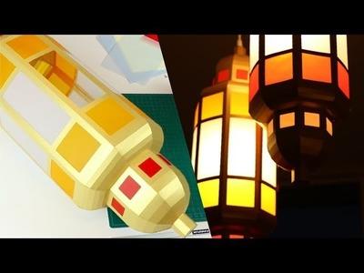 DIY Paper Lantern | Arabic Moroccan Bohemian Lamp how to make