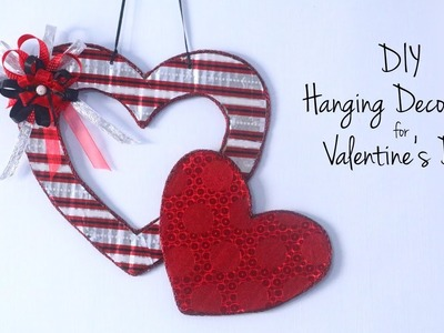 DIY Valentine's Day Gift Ideas | DIY Hanging Decorations | Valentine's Hearts