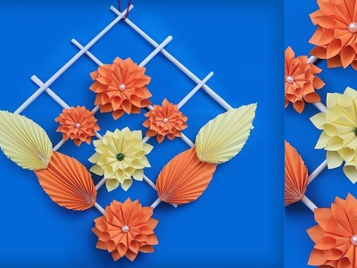 Easy DIY !!! Paper Wall Decor Making at Home | Handmade Things