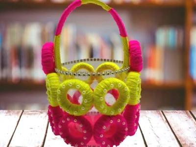 How to Make Waste Plastic Bottle Basket - DIY Best out of Waste Plastic Bottle crafts - Easy Basket