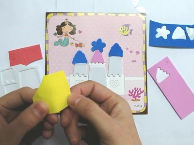 Kids 3D Paste Painting, Children's Crafts,Paper Arts For Baby