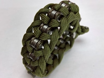 Making a Chain Braclet | DIY Paracord Chain Braclet | Easy DIY