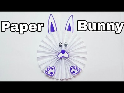 Paper Bunny mini Craft using Paper for kids | Origami Bunny | Paper Art for kids