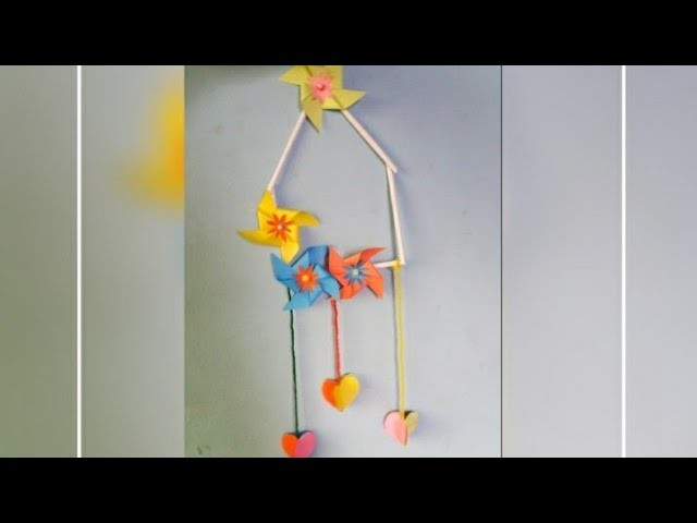 Paper Flower Wall Hanging Diy Paper Wall Hanging Easy Paper