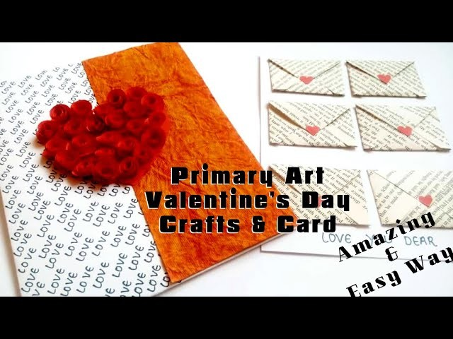 Valentine's Day Card | A Card with Message of Love | DIY | Step by Step