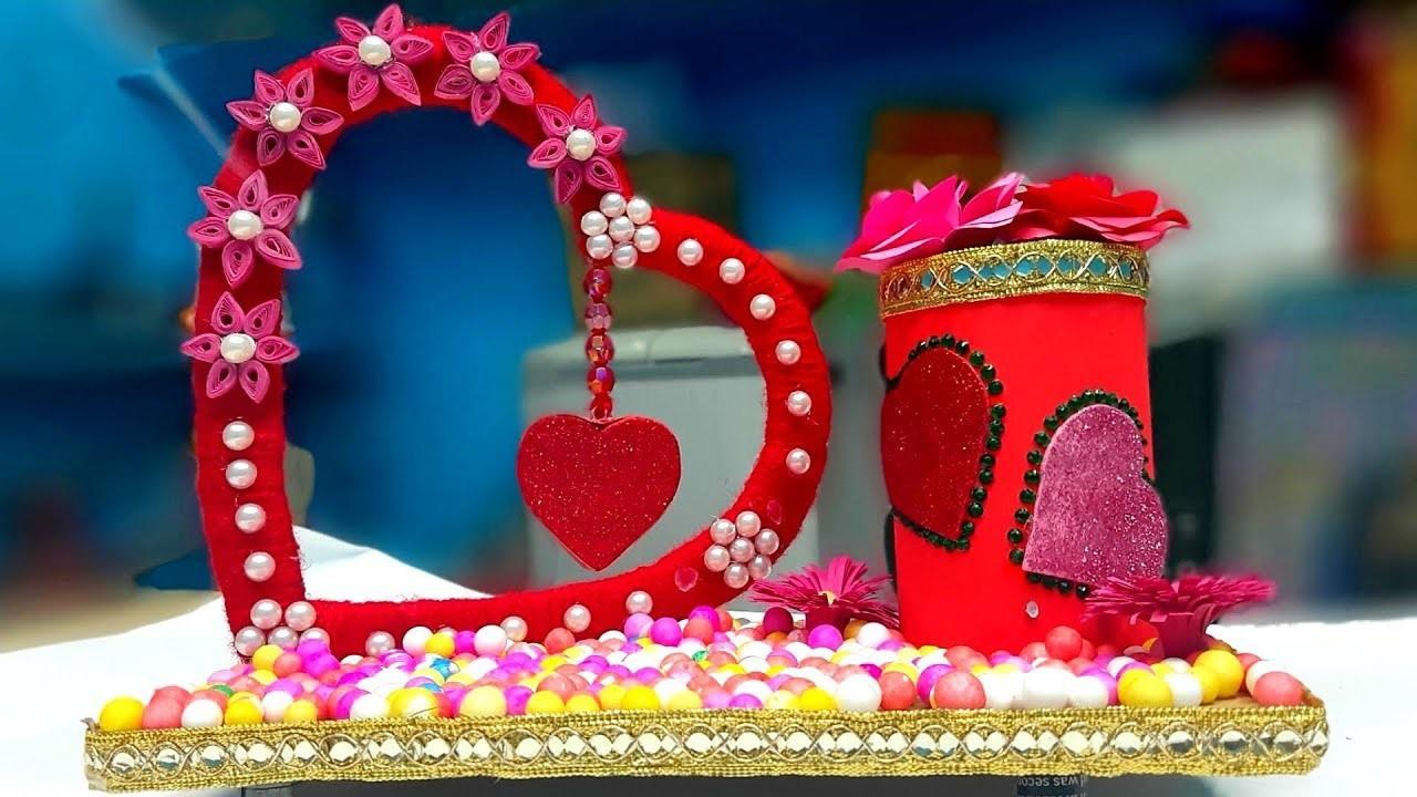 Valentines day crafts easy | valentine's day paper crafts easy | valentines day gifts for him diy