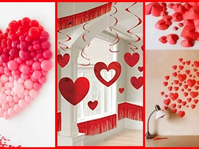23 Valentine's Day Special DIY Decoration Ideas  ll Valentine Day Decoration Ideas ll