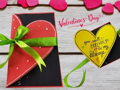 Beautiful Handmade Valentine's Day Card | DIY Greeting Cards For Valentine's Day | Papergirl