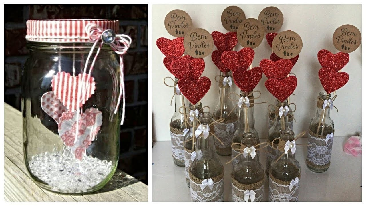 DIY Projects for Valentine's Day! Decorating ideas for a Sweet Room 2019