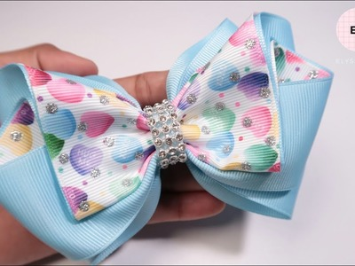 Laço De Fita ???? Ribbon Bow Tutorial #14 ???? DIY by Elysia Handmade