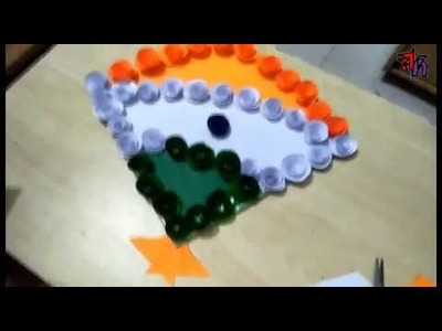 Tricolor Kite by Art house School Project   Tricolour DIY by Art House