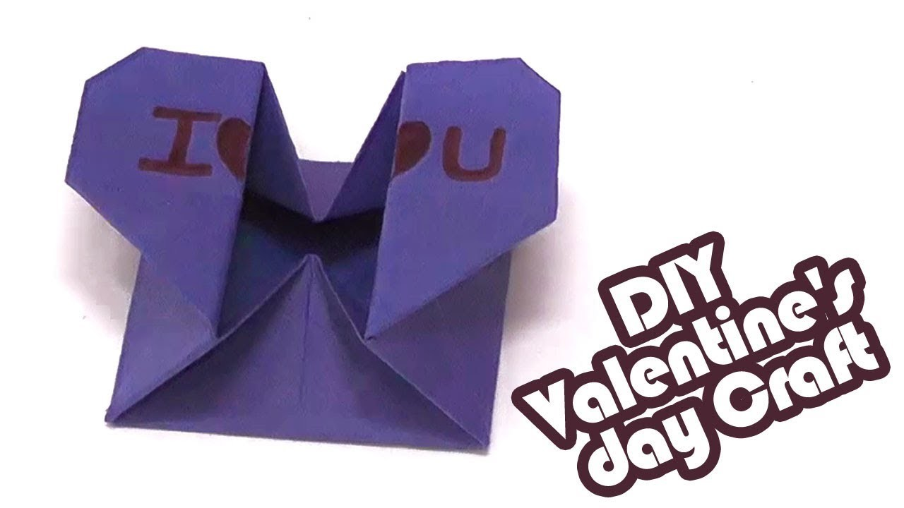 Valentines Day Gift Box Ideas In Tamil Easy Diy Craft Valentines