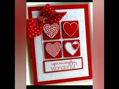 50 Romantic Handmade Valentines Day Card Idea DIY