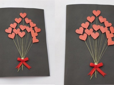 Beautiful DIY Pop Up Card | Handmade card for Valentine's day