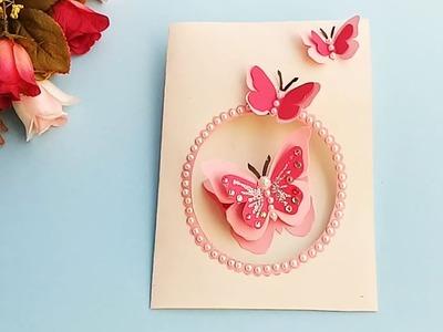 Butterfly Birthday Card For Boyfriend Or Girlfriend