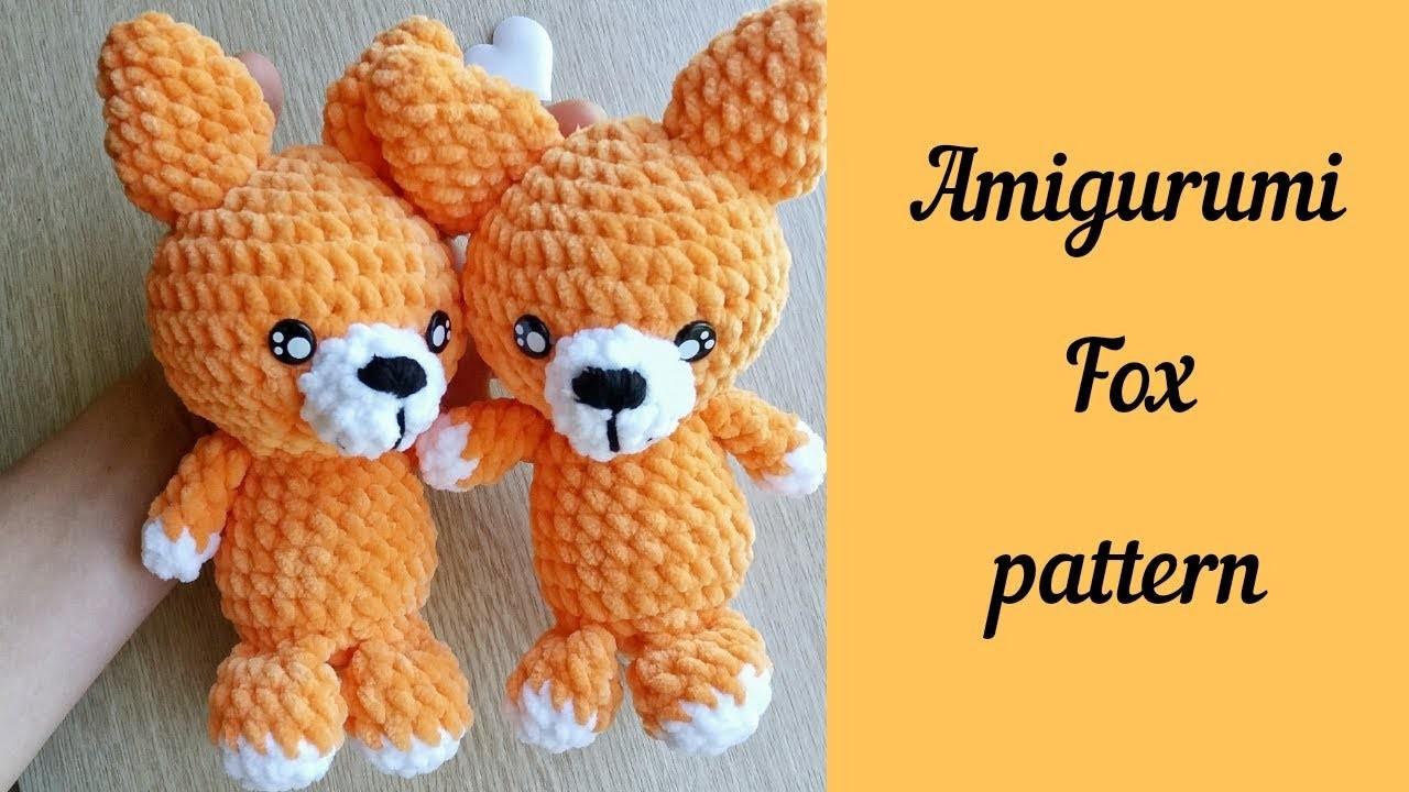 Crochet Amigurumi Fox Free Pattern