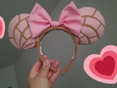 Disney DIY : Concha Mickey Mouse Ears!