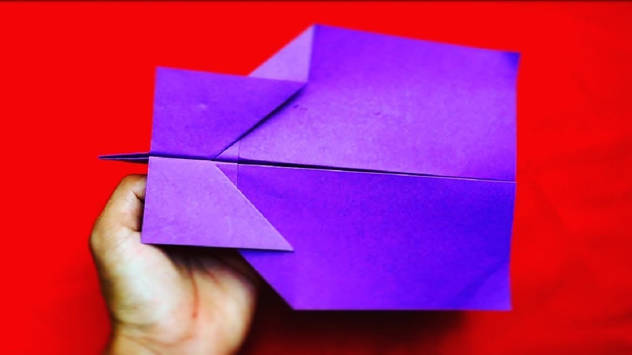 How To Make a Beautiful Paper Airplane | Origami Beautiful Paper Airplane