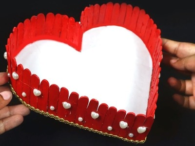 How to Make Diy Heart Shape Basket in Simple Way