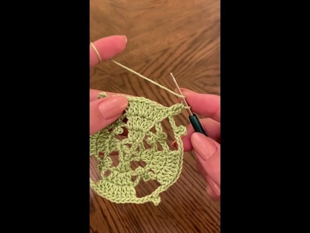 Lace Valentine Crochet Square Motif