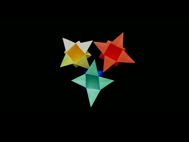 Origami Star Box #How to make an Origami Star Box #Star box for your loved ones #kids love