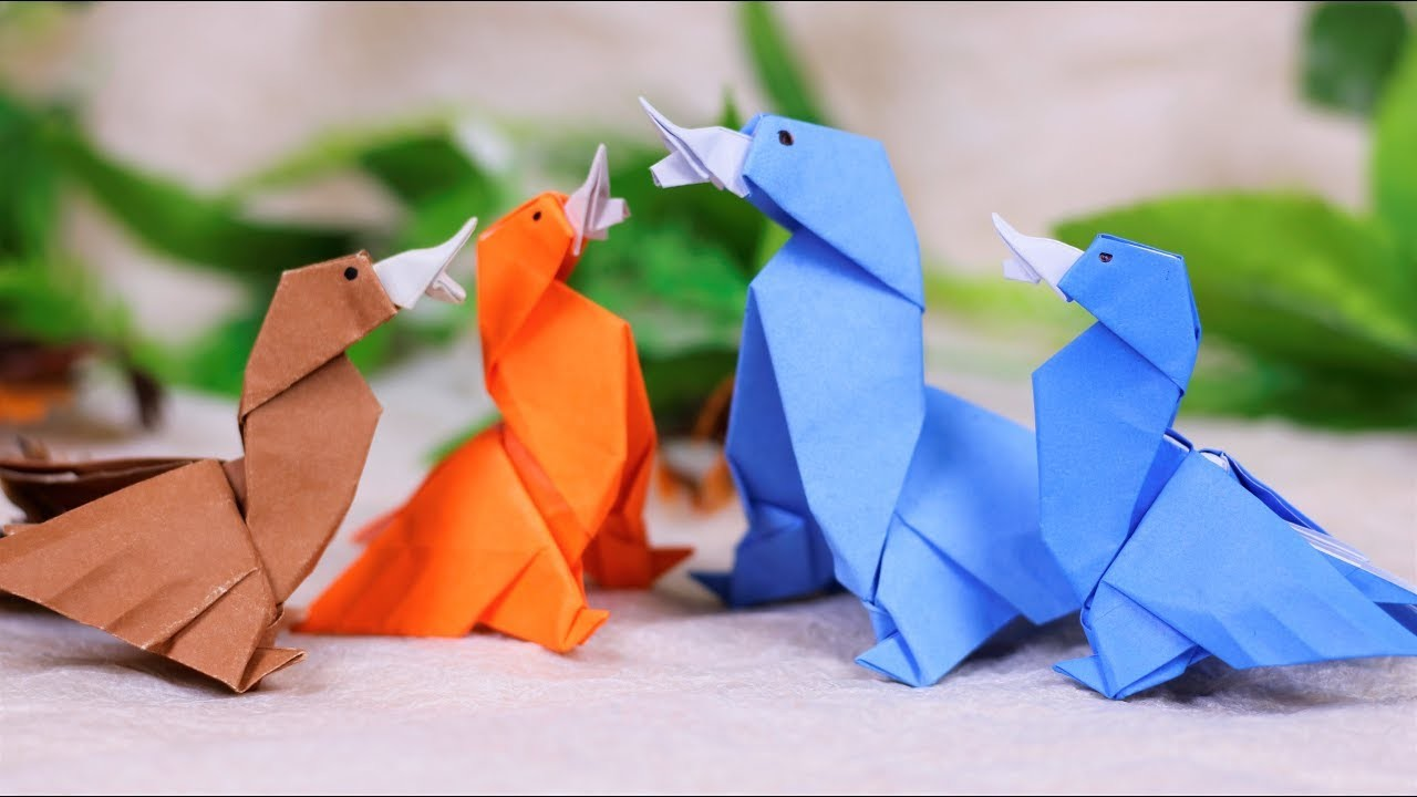 Paper Folding Art (Origami): How to Make  Duck