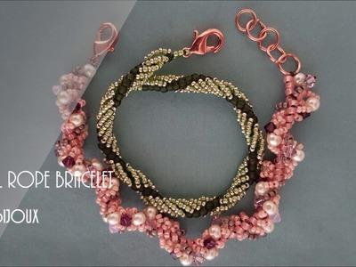 Spiral Rope Bracelet - Beading Tutorial