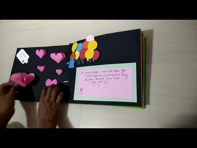 #Ureka #CheckOut_Your_Wish_Here | Happy Birthday Scrap Book | Handmade Book | DIY Craft | Order Now