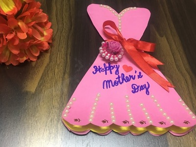 Beautiful handmade Mother's Day card