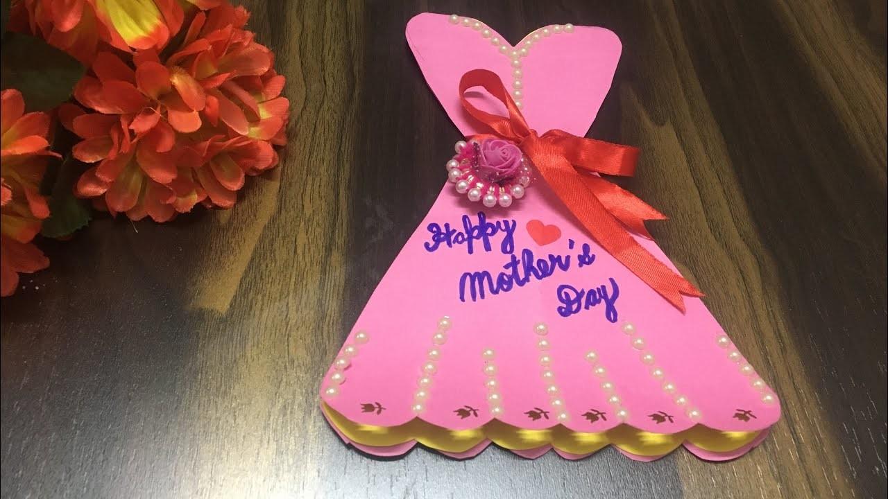 Beautiful handmade Mother's Day card