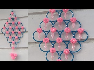 DIY | Old bangle reuse idea |  wall hanging from old bangles | Best out of waste